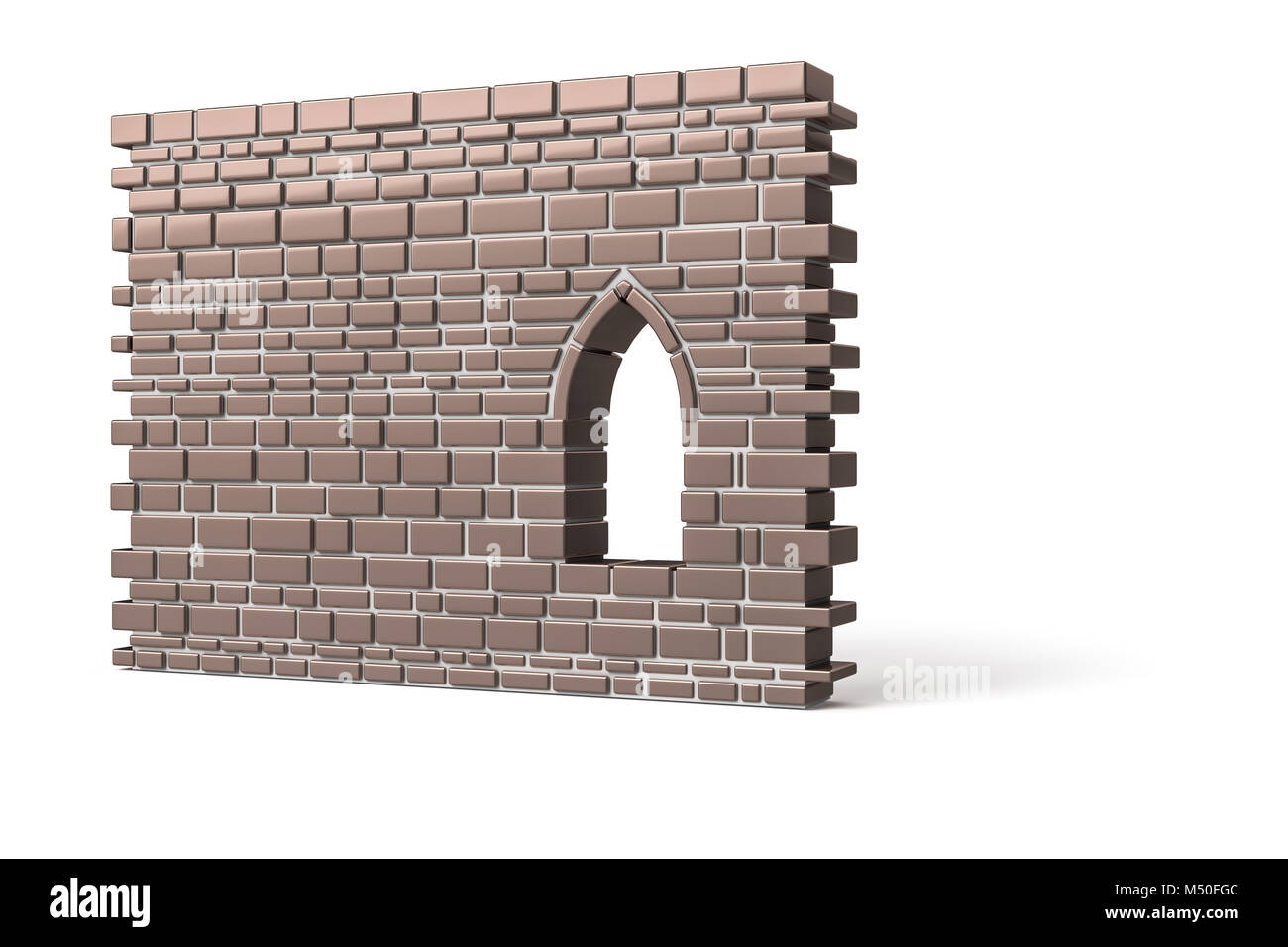 a part of a wall - Stock Image