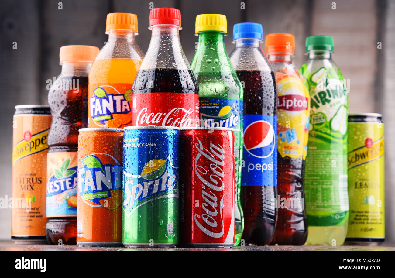 Carbonated Soft Drinks Stock Photos & Carbonated Soft ...
