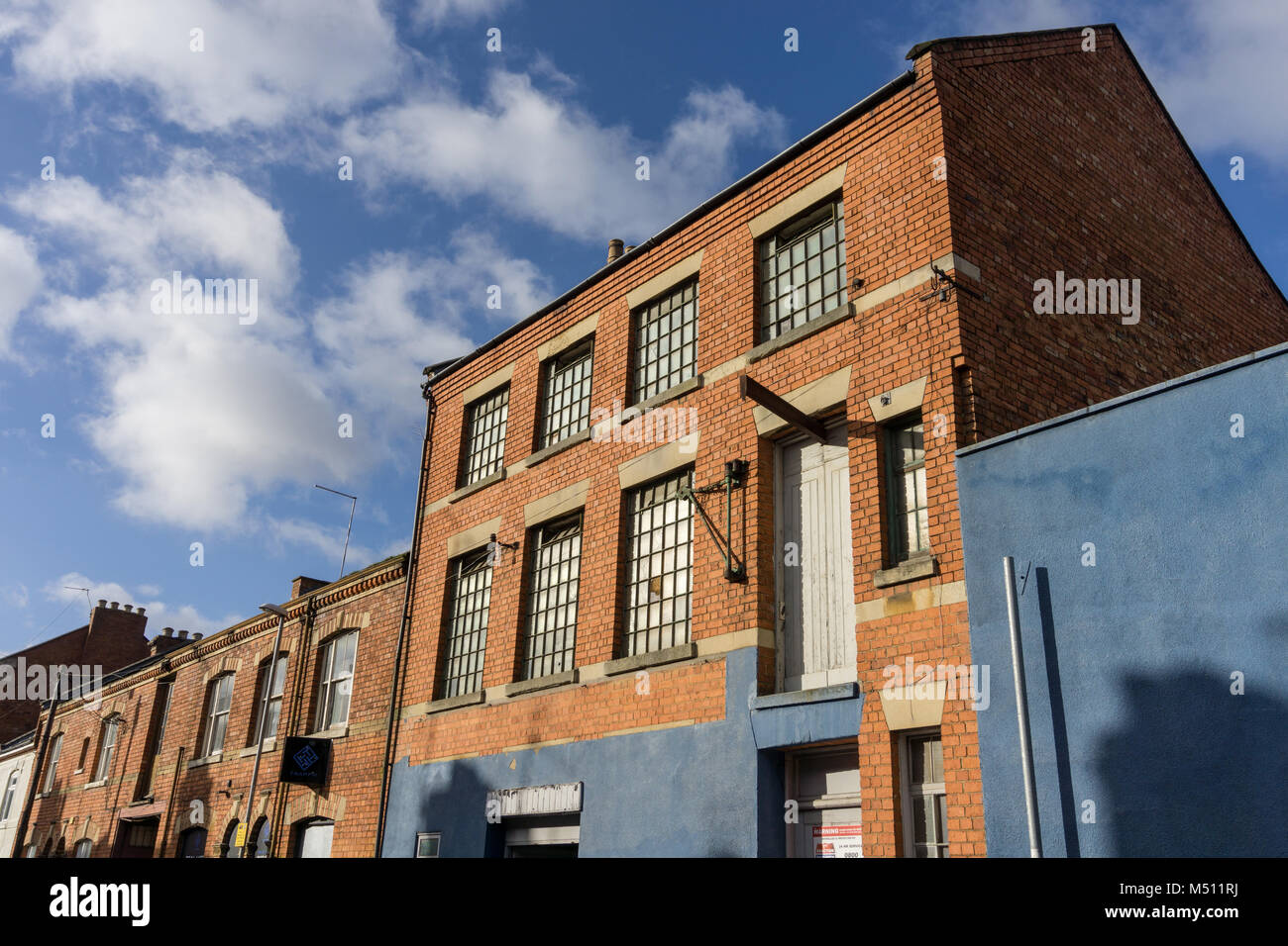 Old Shoe Factory High Resolution Stock