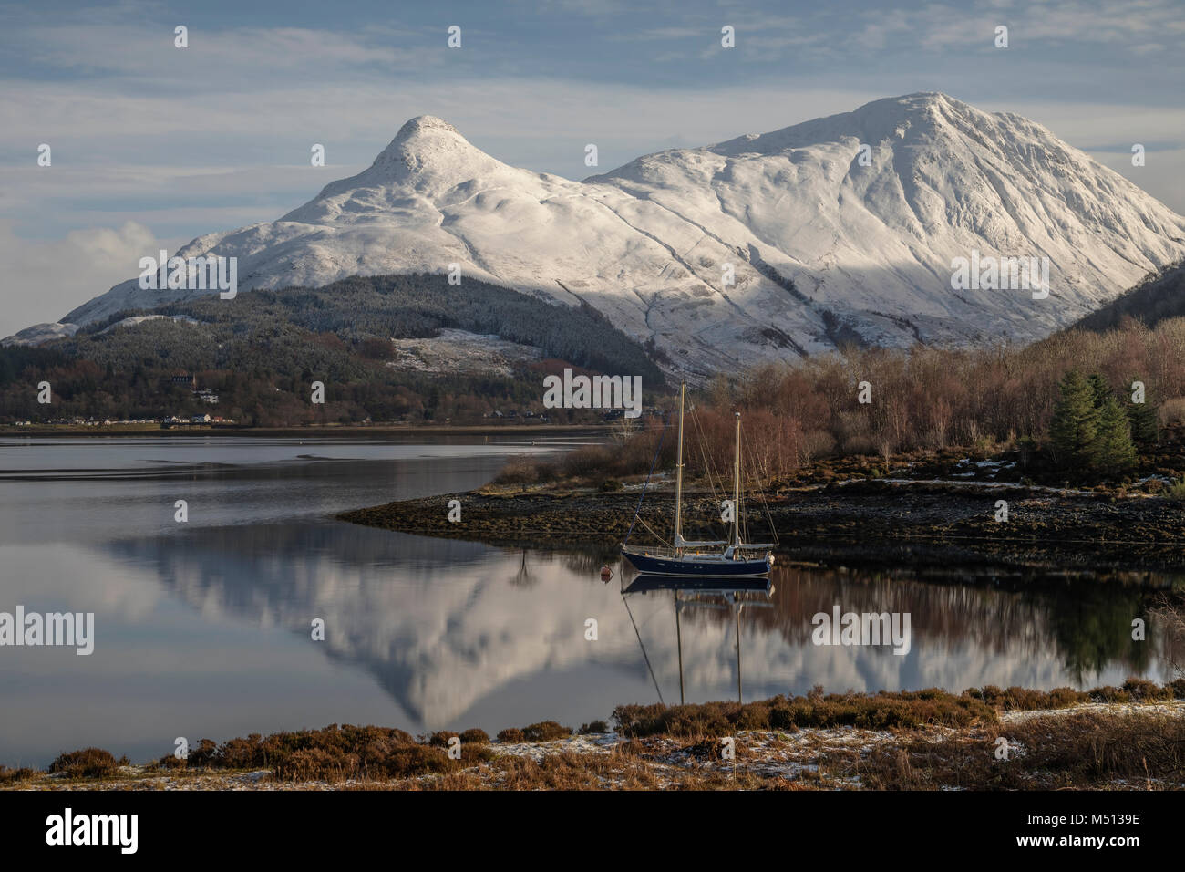 Loch Leven, Ballachulish, Highlands, Scotland, United Kingdom - Stock Image