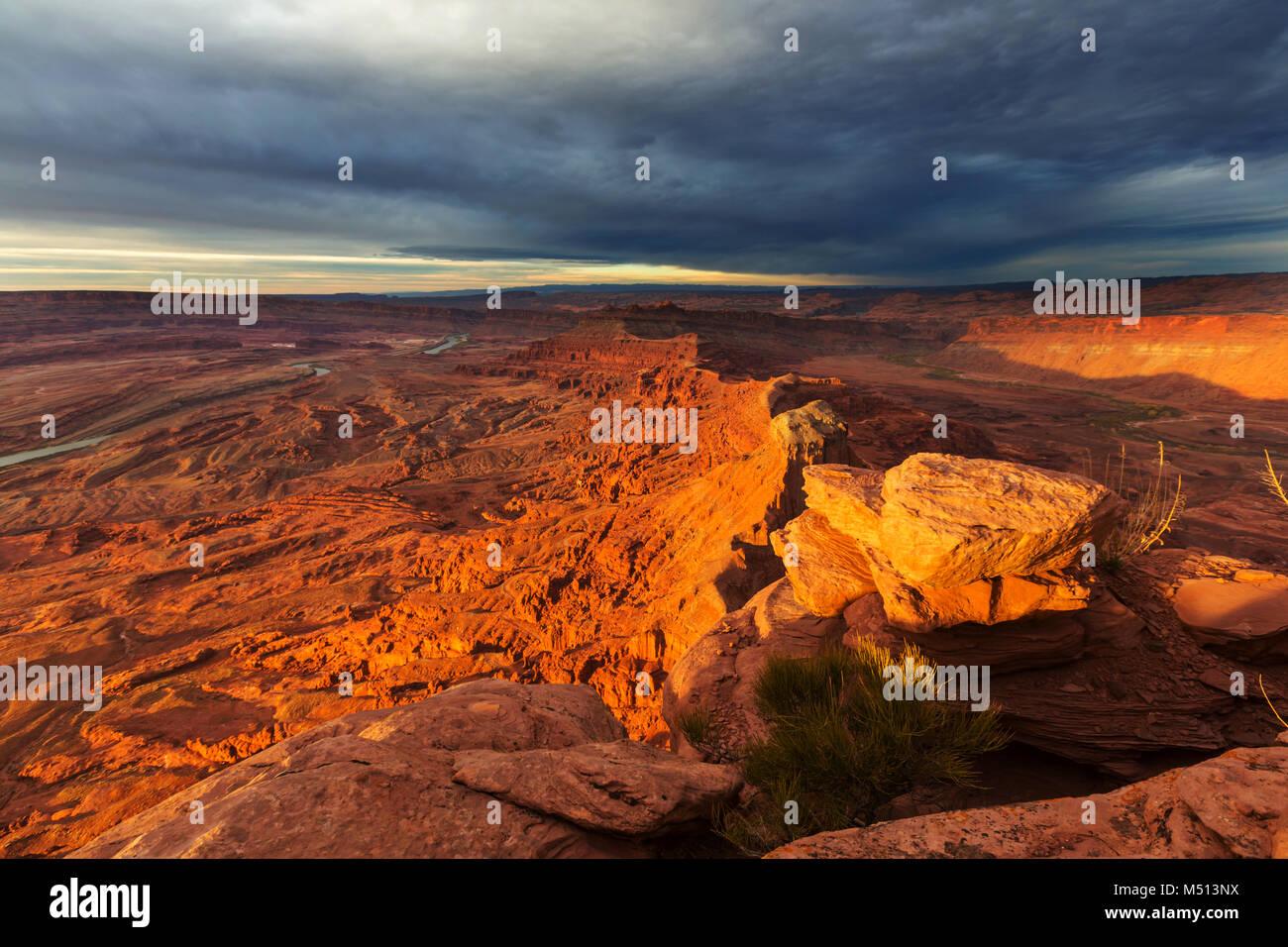 Canyonlands Stock Photo