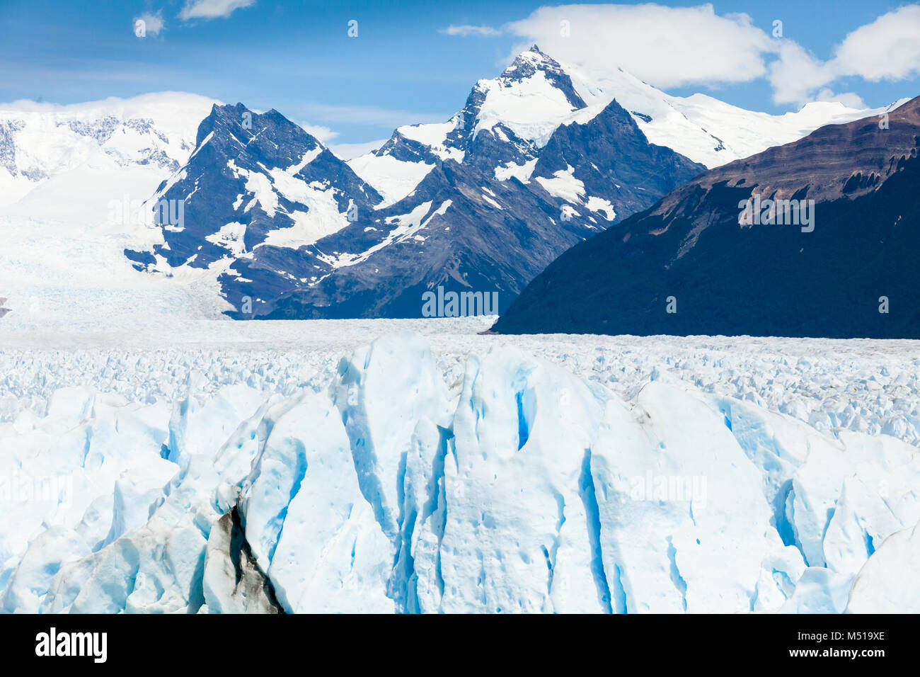 Perito Moreno  Patagonia Argentina Ushuaia - Stock Image