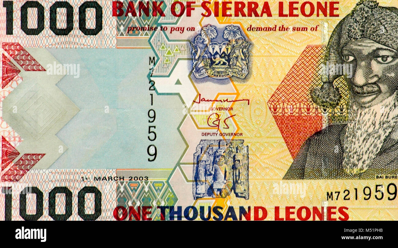 Money Sierra Leone Stock Photos Money Sierra Leone Stock Images