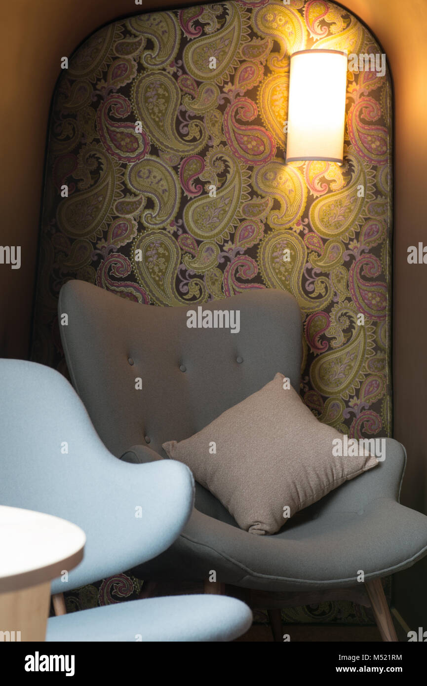 Strange Modern Armchair In Indian Lounge Interior With Paisley Pdpeps Interior Chair Design Pdpepsorg
