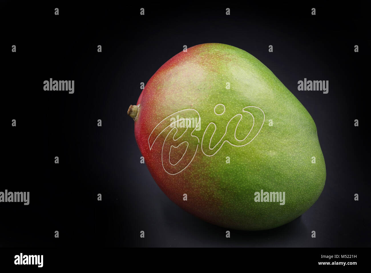 bio mango isolated - Stock Image