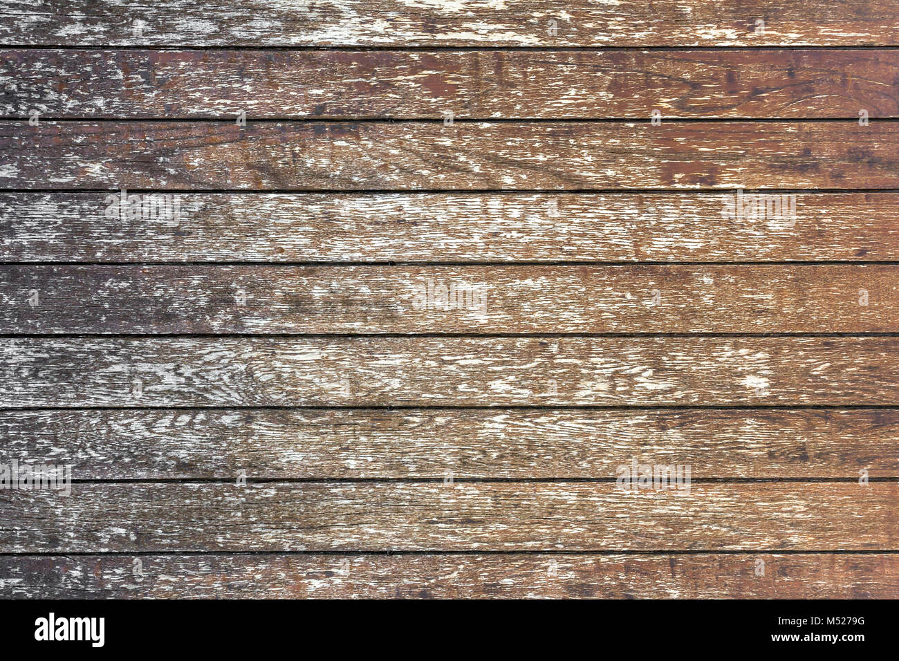 Old wood planks - Stock Image