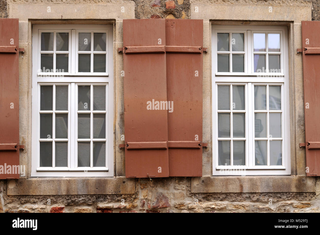 wooden lattice windows stock photos wooden lattice windows stock