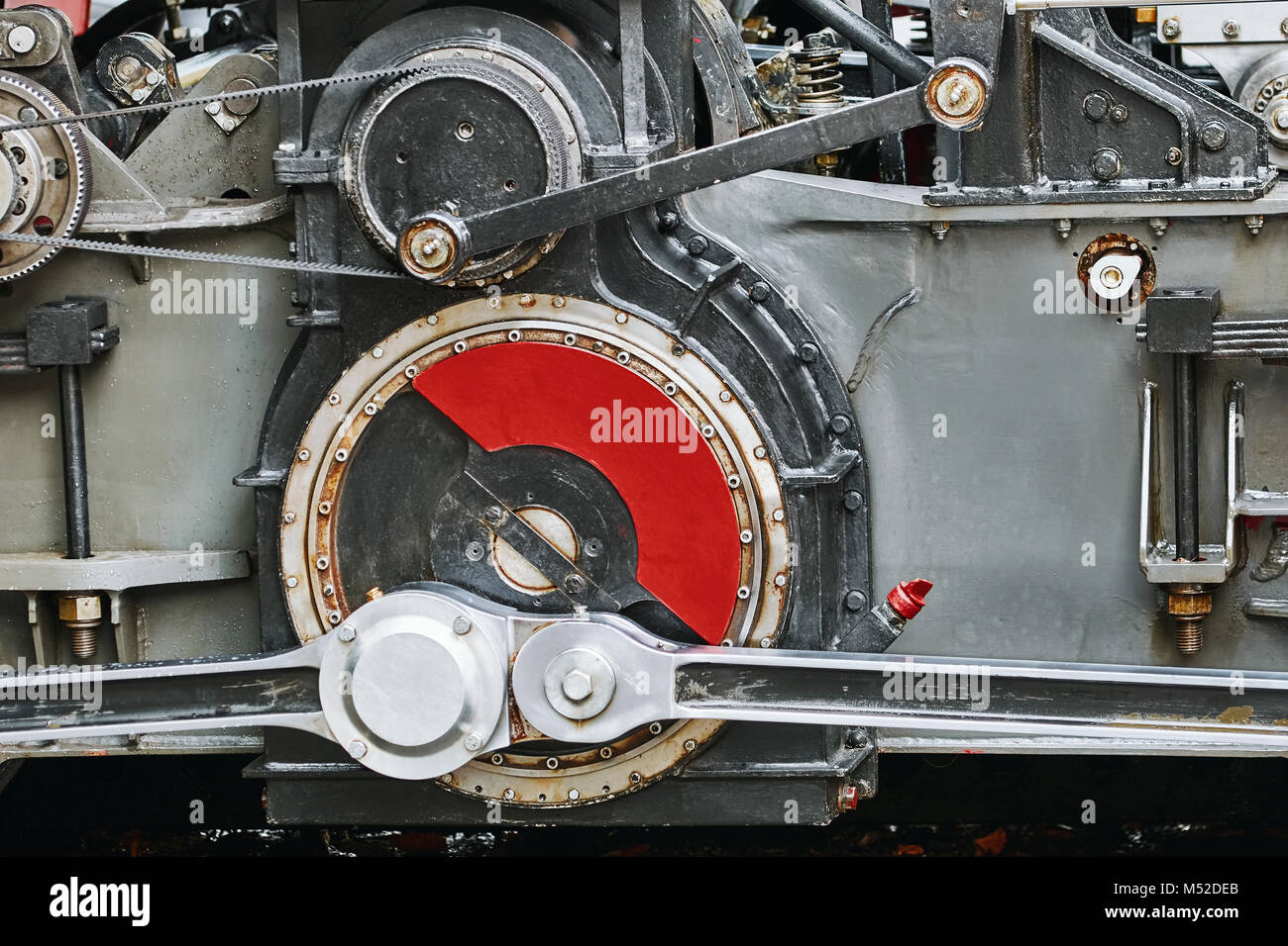 Reduction Gearing Part of Locomotive - Stock Image