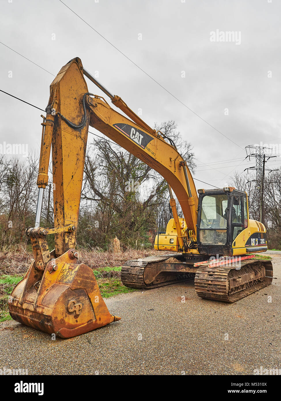 Cat Excavator High Resolution Stock Photography And Images Alamy