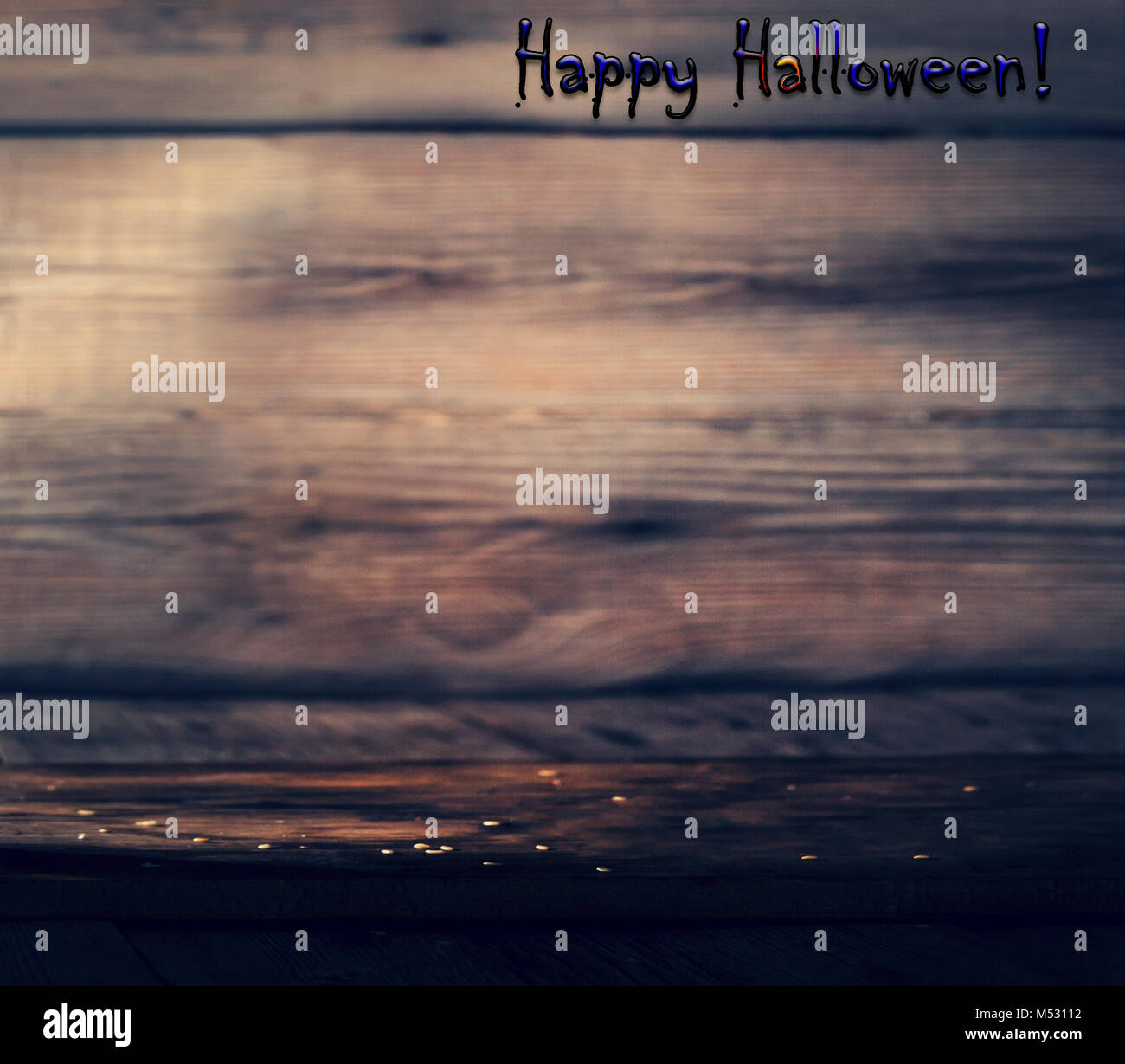 Mystical twilight of the brewery. Halloween. - Stock Image
