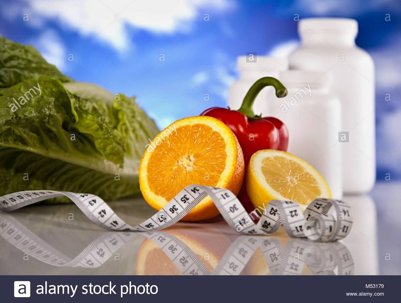 Living healthy Stock Photo
