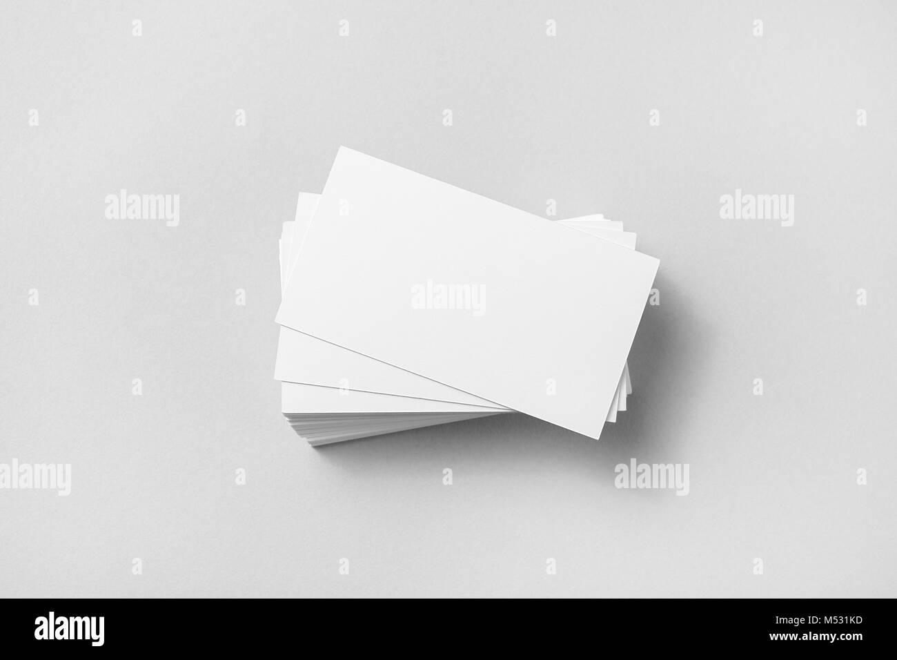 Blank business cards Stock Photo: 175244145 - Alamy
