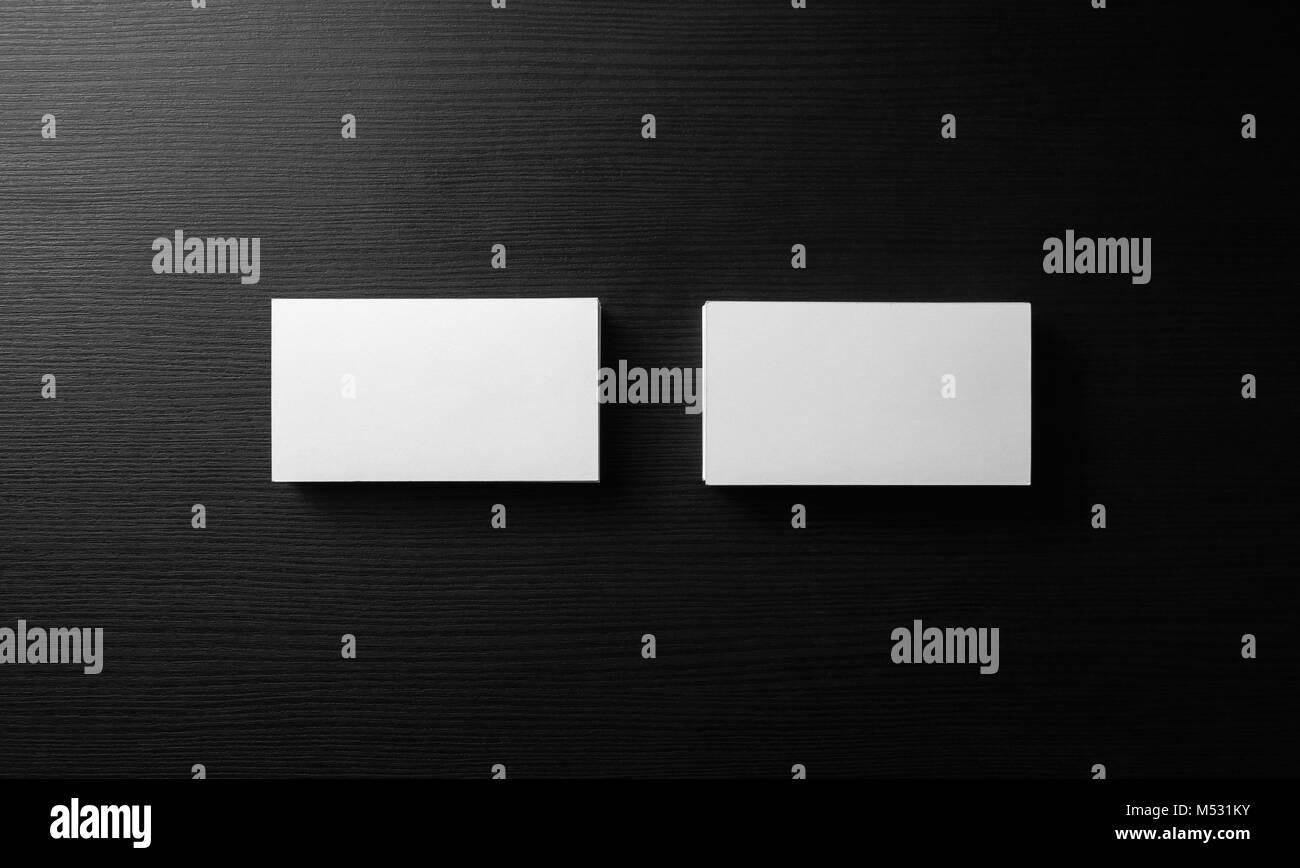 Blank business cards Stock Photo: 175244159 - Alamy