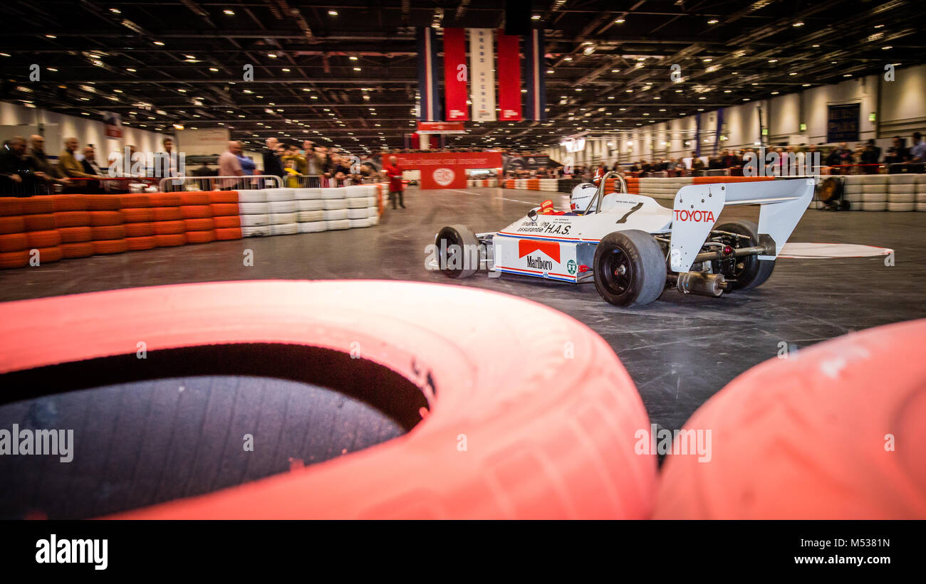 1978 Ralt RT1 F3 racing car at The London Classic Car Show & Historic Motorsport International Show 2018 at - Stock Image