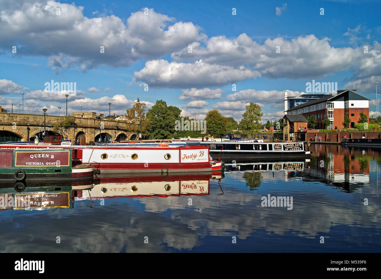 UK,South Yorkshire,Sheffield,Victoria Quays - Stock Image