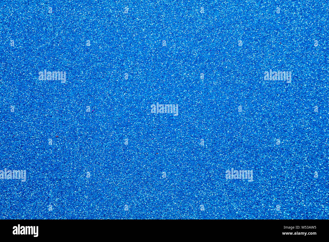 blue glitter texture christmas abstract background - Stock Image