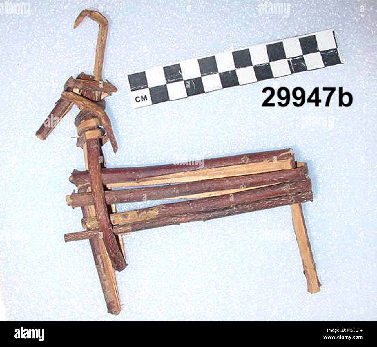 Split-Twig Figurine GRCAb. - Stock Image
