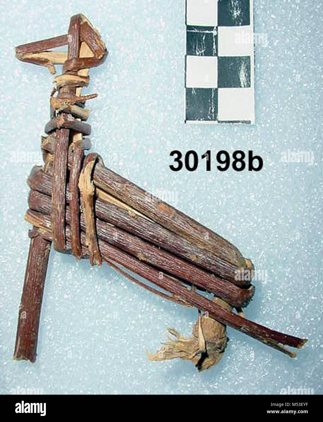 Split-Twig Figurine GRCAb. Some of the most facinating artifacts found here in the Grand Canyon are split-twig figurines. - Stock Image