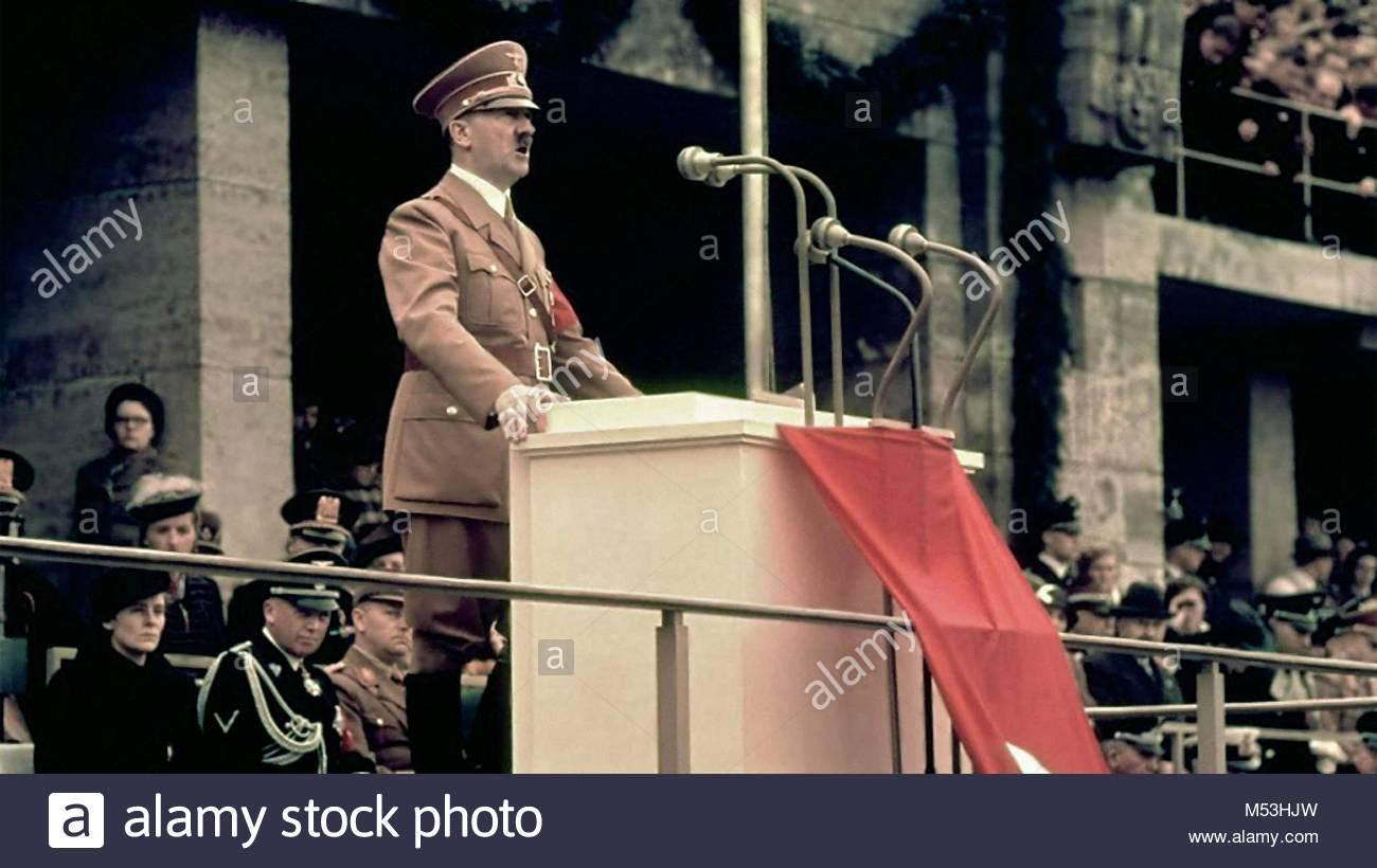Adolf Hitler - Stock Image