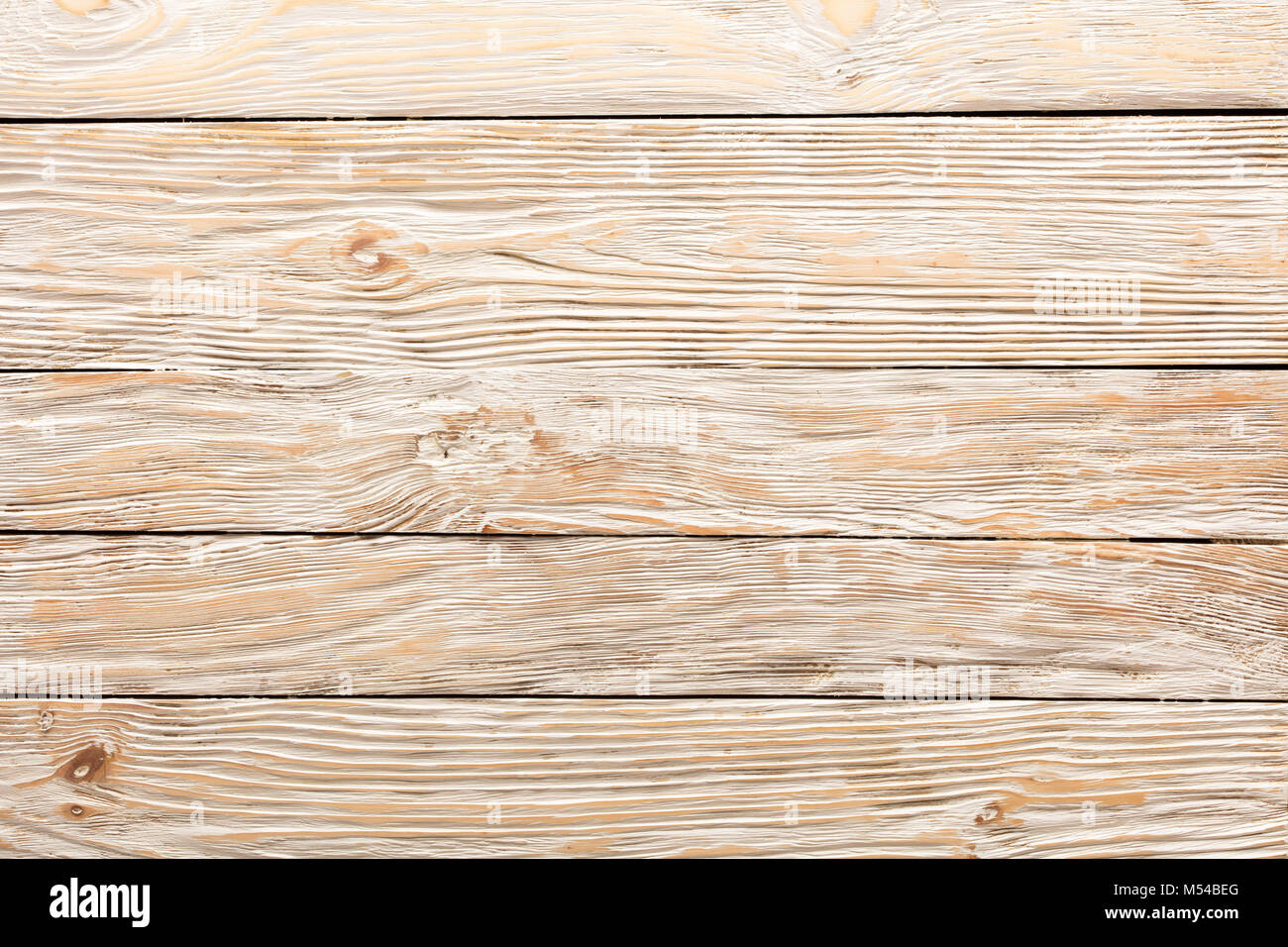 Texture Of Boards Light Old White Wood