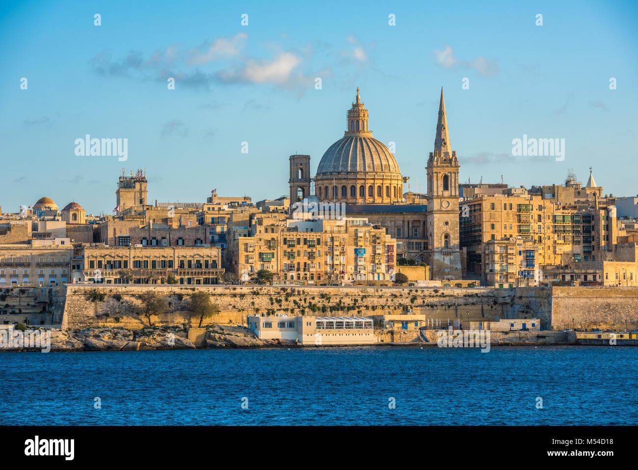 View of Valletta - Stock Image
