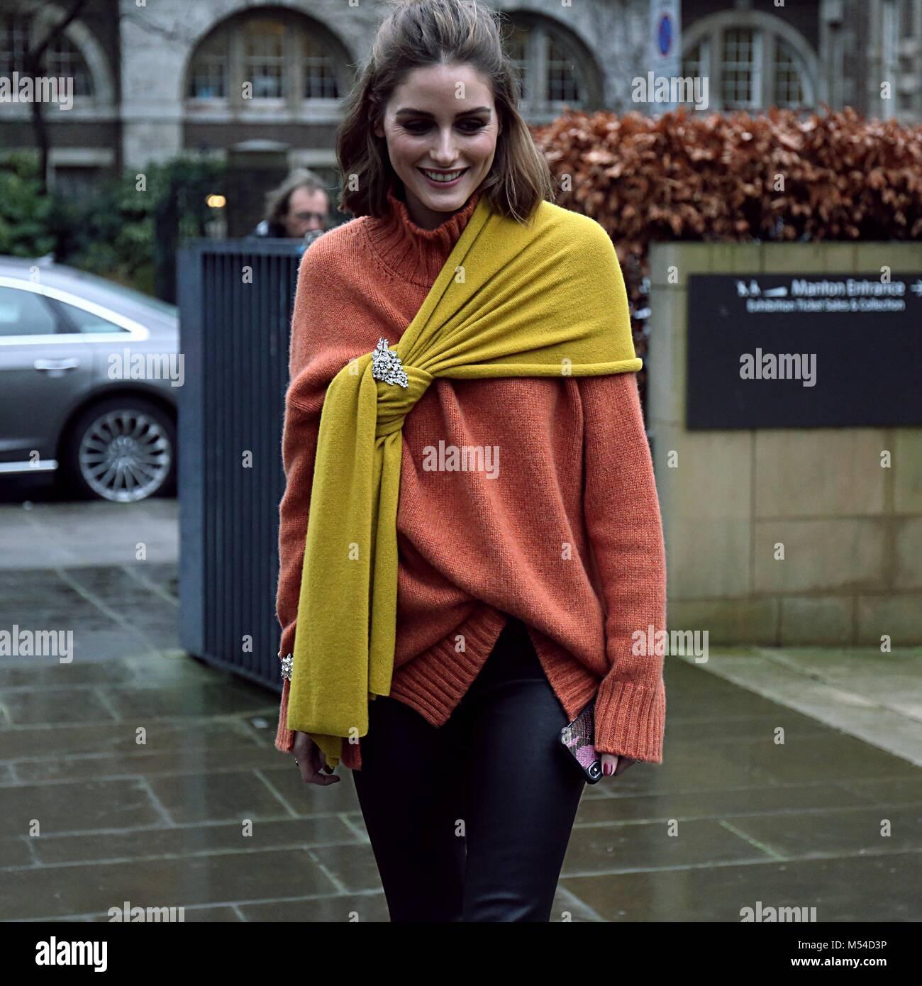 Street Style London Fashion Week February  Elle Uk