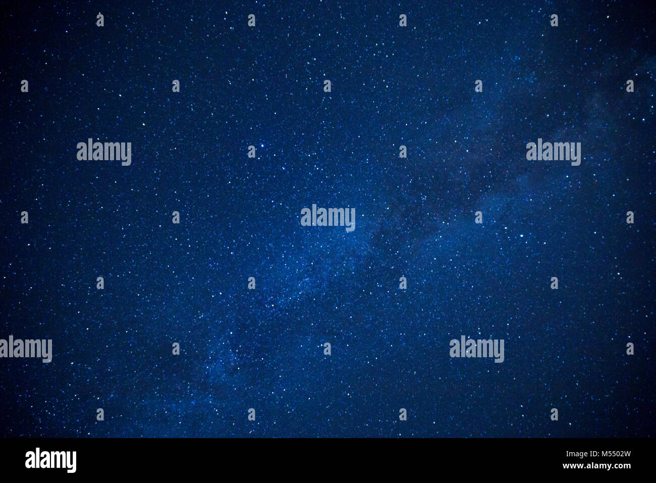 Milky Way Galaxy with Stars in the Universe. - Stock Image