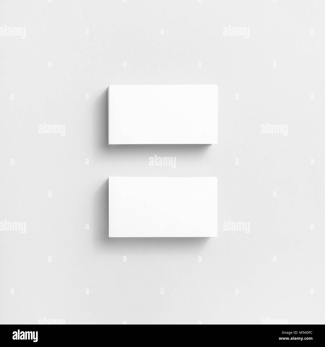 Blank business cards Stock Photo: 175309104 - Alamy