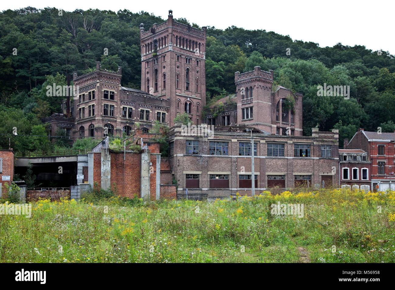 Cheratte, Steinkohlenzeche HASARD, Malakowturm Stock Photo
