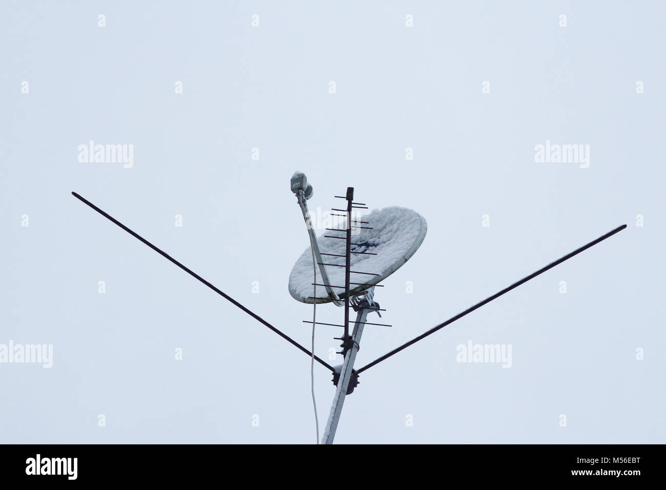 open telecommunication space - Stock Image