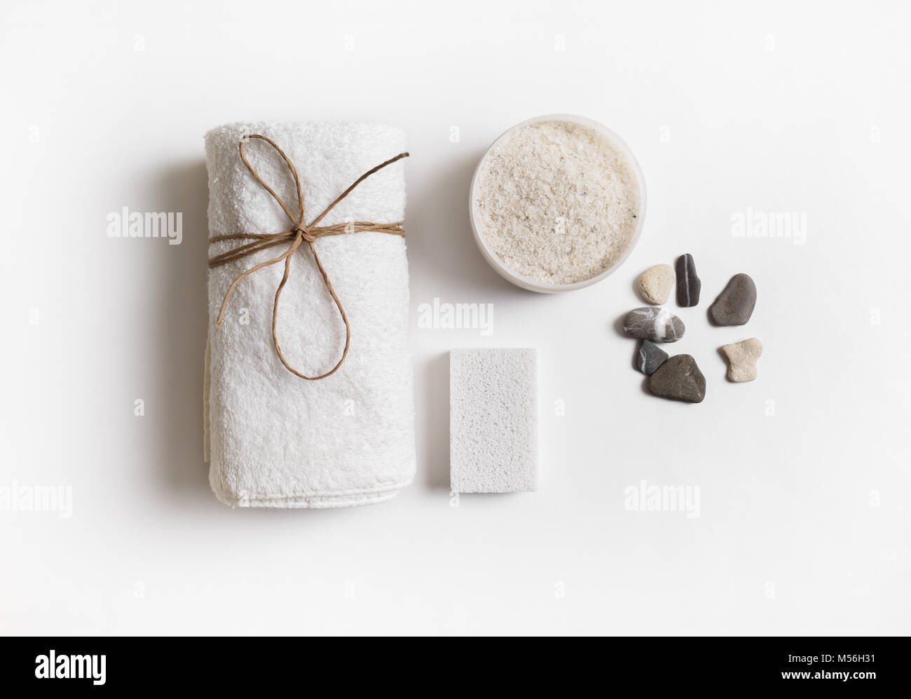 Beauty and spa concept - Stock Image