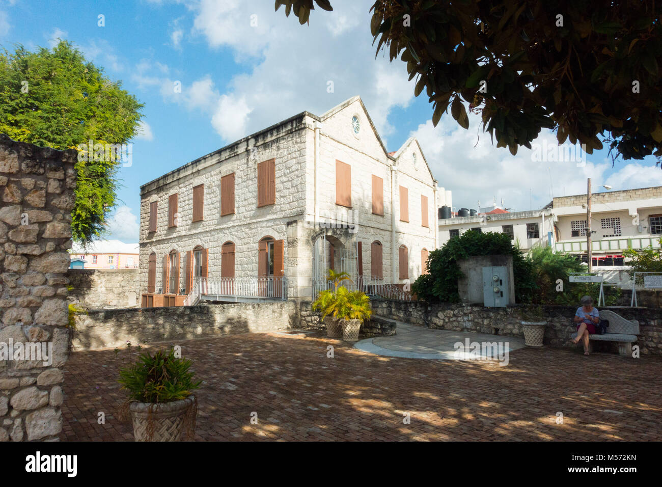 The Nidhe Israel Synagogue Museum opened in 2008 in Bridgetown, Barbados - Stock Image