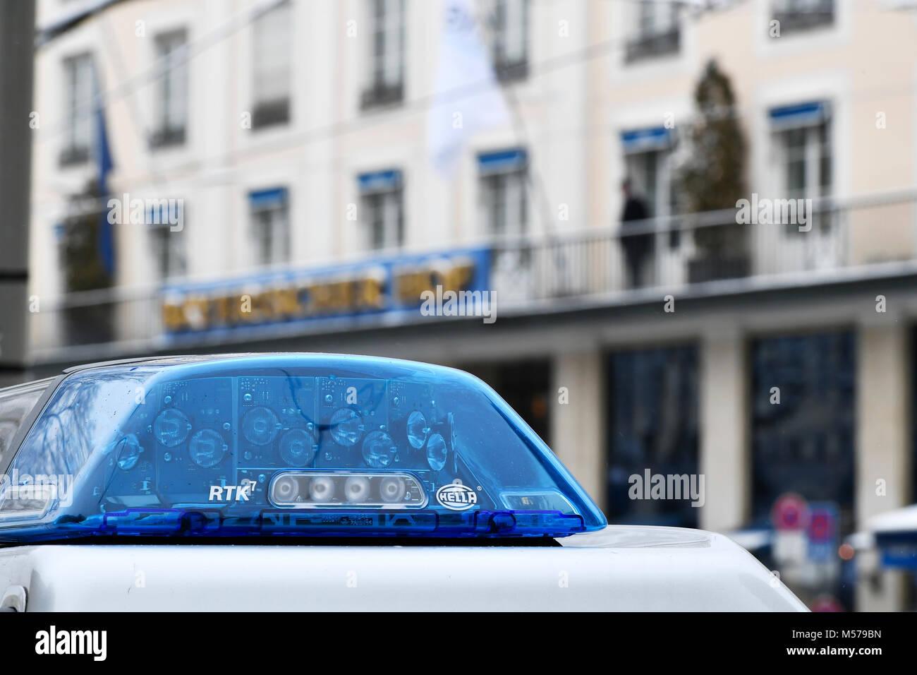 Police, Car, Blue, Flash, Flashing, Light, Lights, LED, VIP