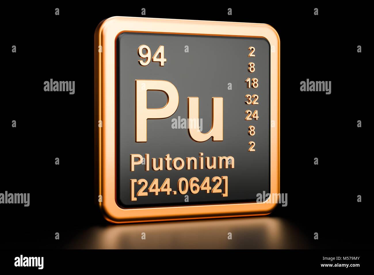 Chemical Symbol Pu Stock Photos Chemical Symbol Pu Stock Images