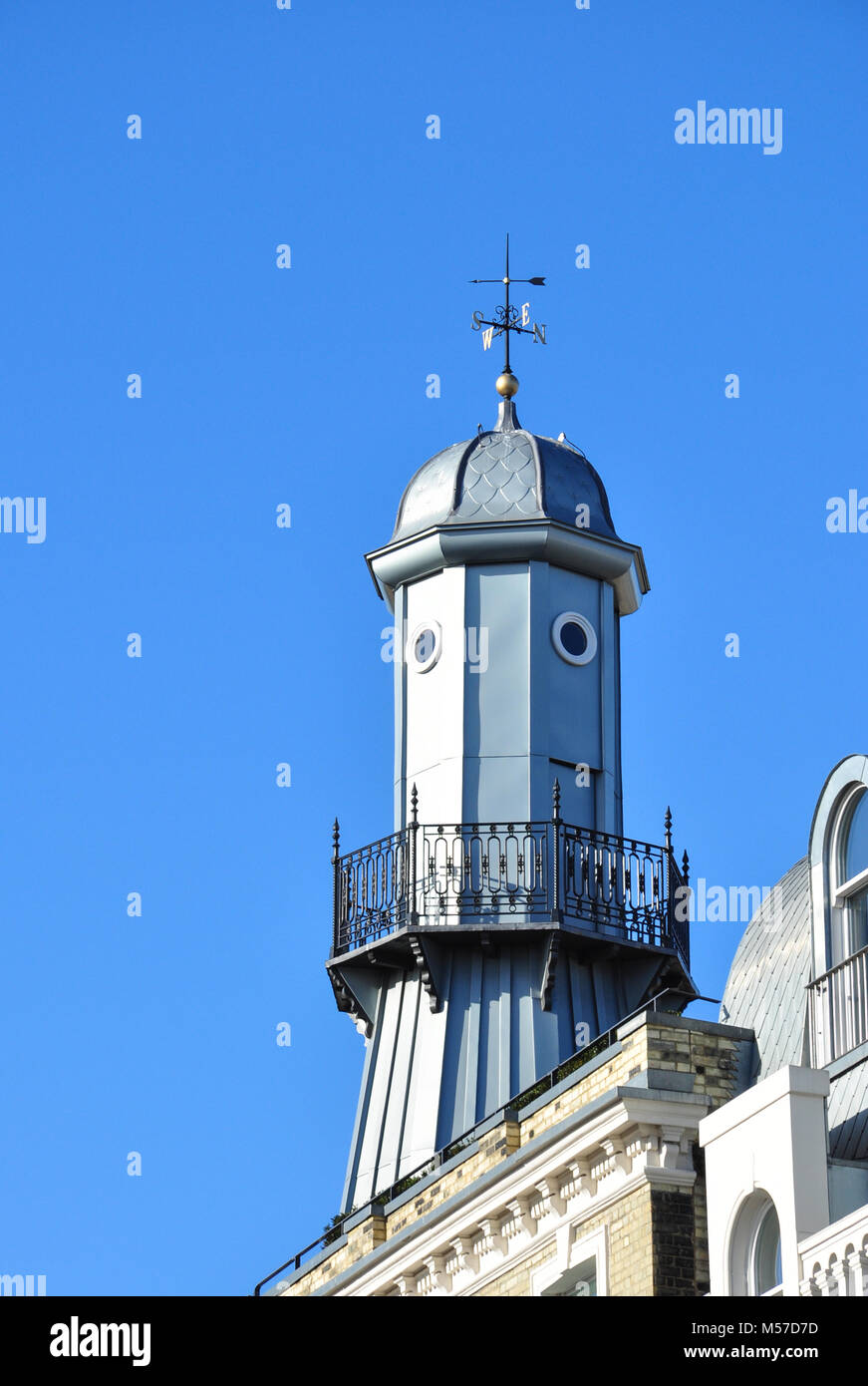 The 'Lighthouse' from Gray's Inn Road, London, England, UK - Stock Image