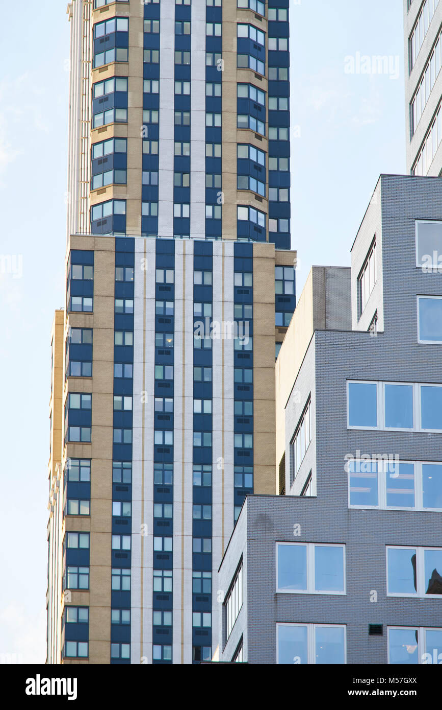 different buildings in new york city stock photos different