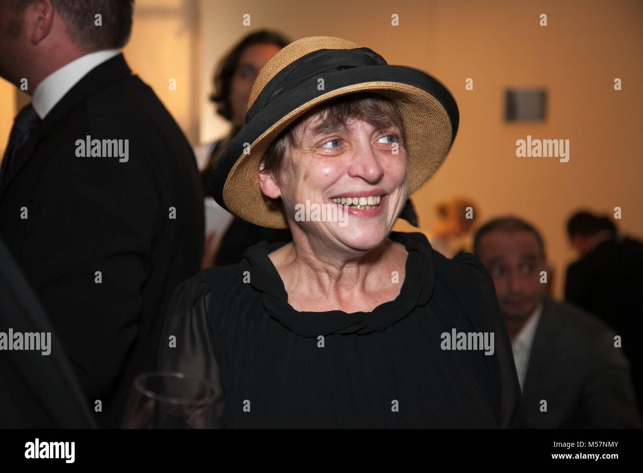 German actress Katharina Thalbach on an Event in Berlin. - Stock Image