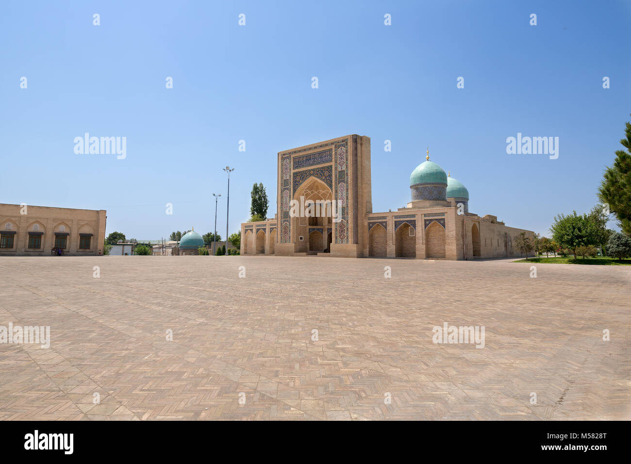 Solitude mosque in Tashkent Stock Photo