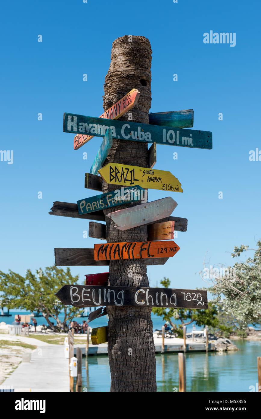 Bahia Honda State Park near Key West Florida - Stock Image
