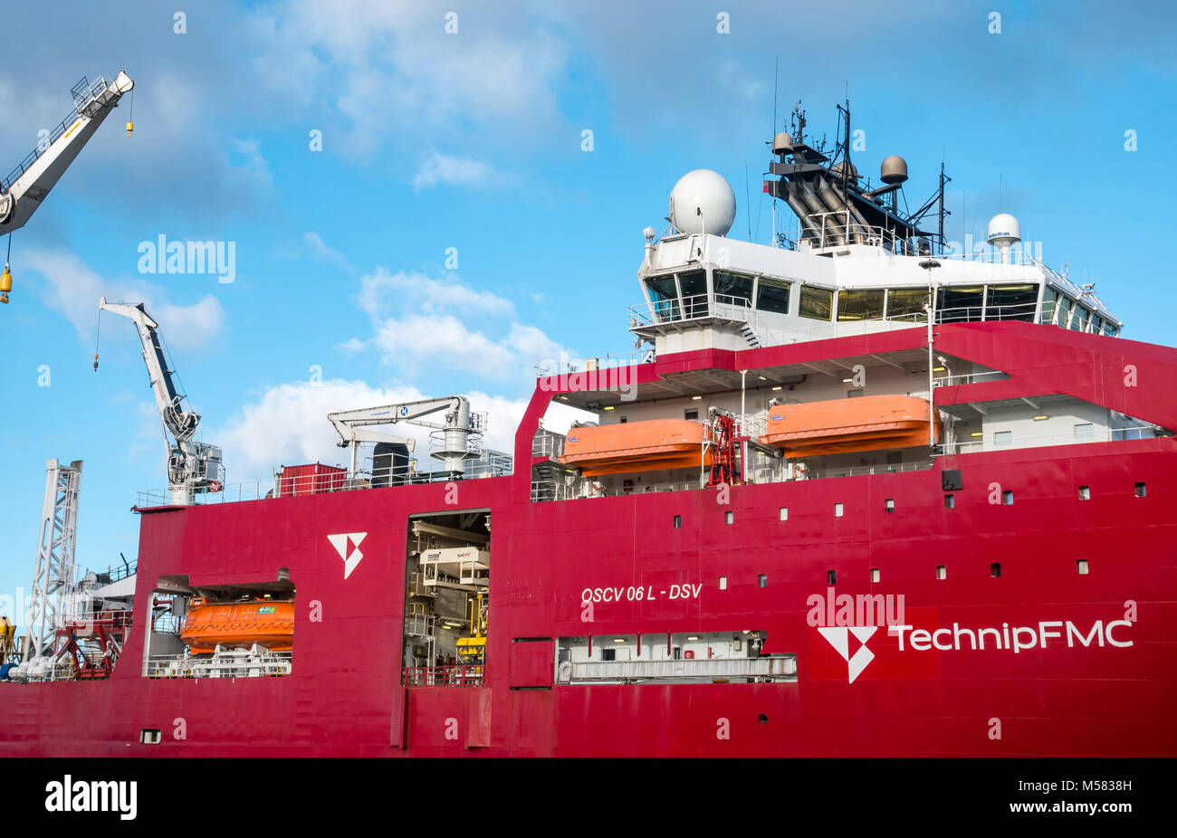 Diving Support Vessel Stock Photos & Diving Support Vessel