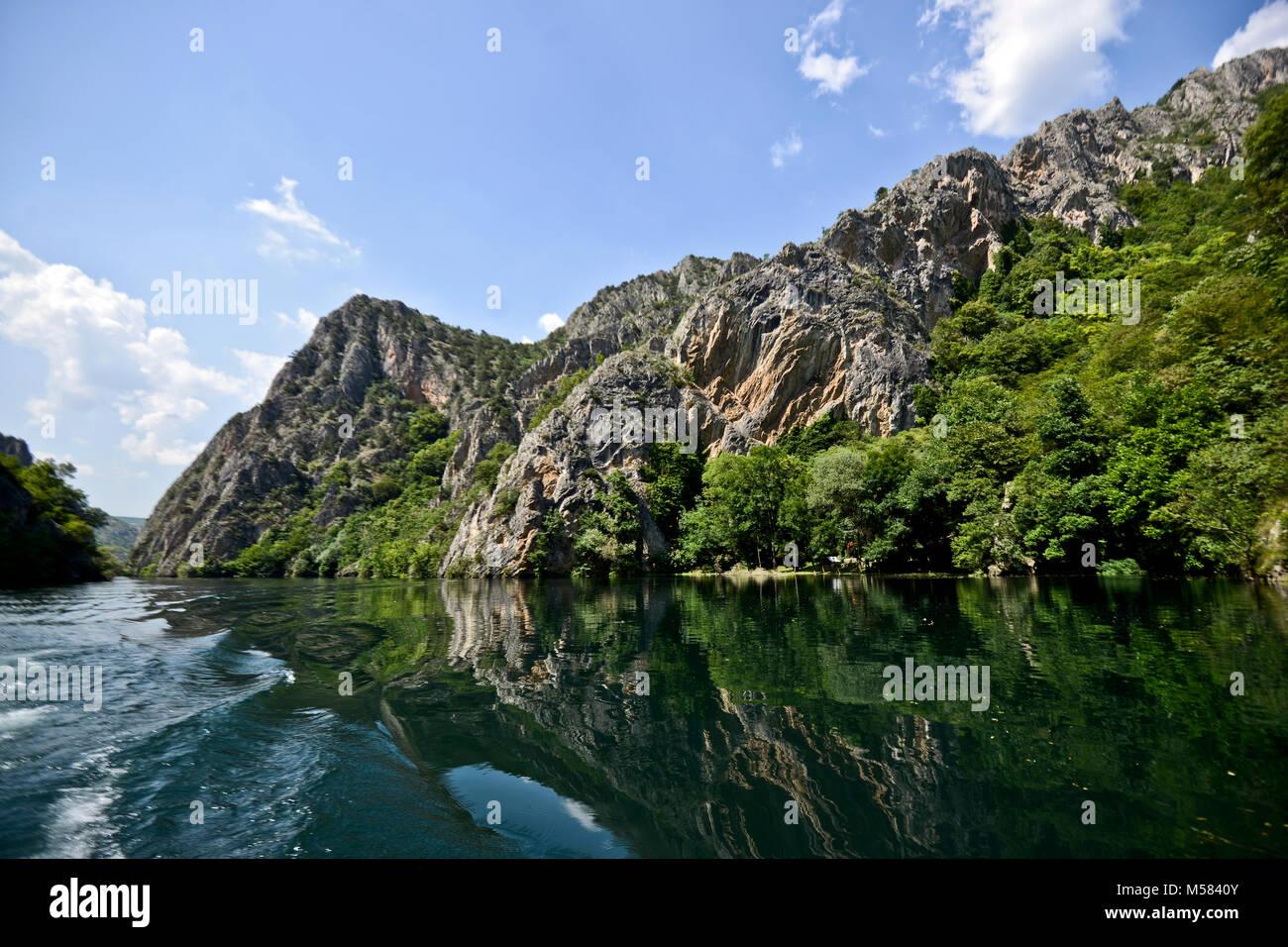 Matka Canyon, Macedonia - Stock Image