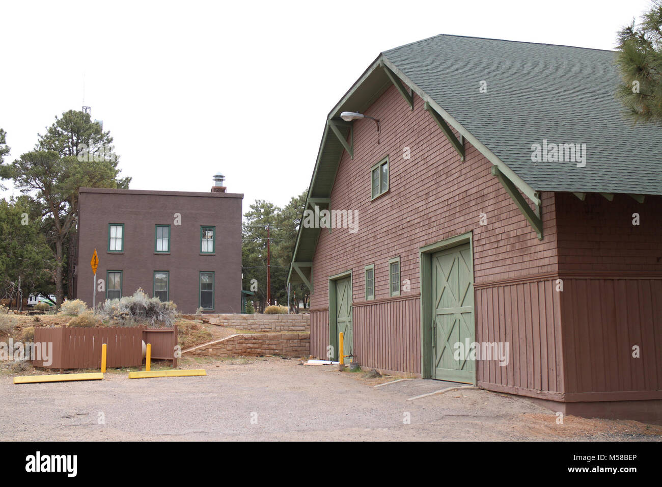 Grand Canyon National Park Mule Barn ()   The Mule Barn, the
