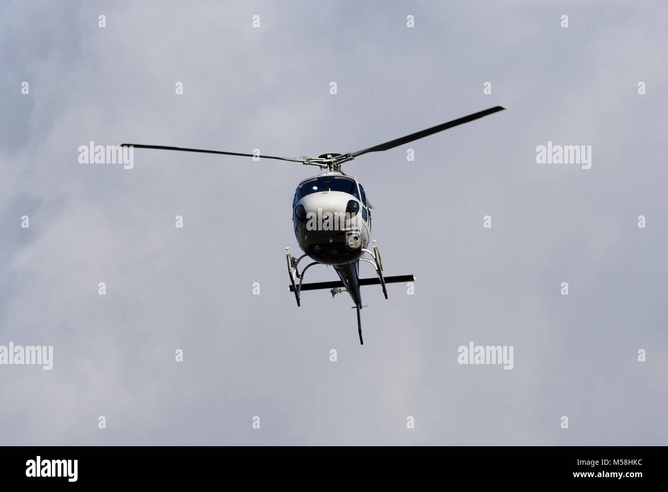 Squirrel helicopter with video camera - Stock Image