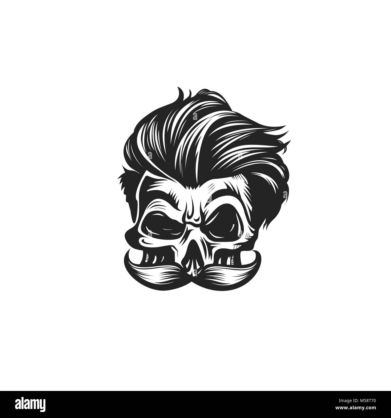Swag skull vector illustration Stock Vector
