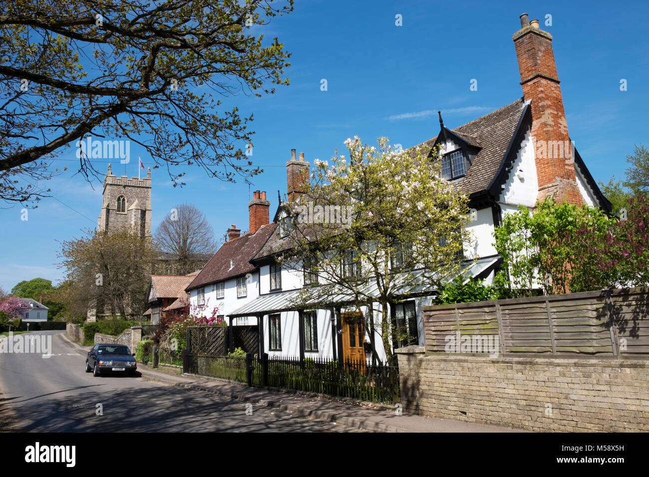 Walsham Le Willows Suffolk - Stock Image