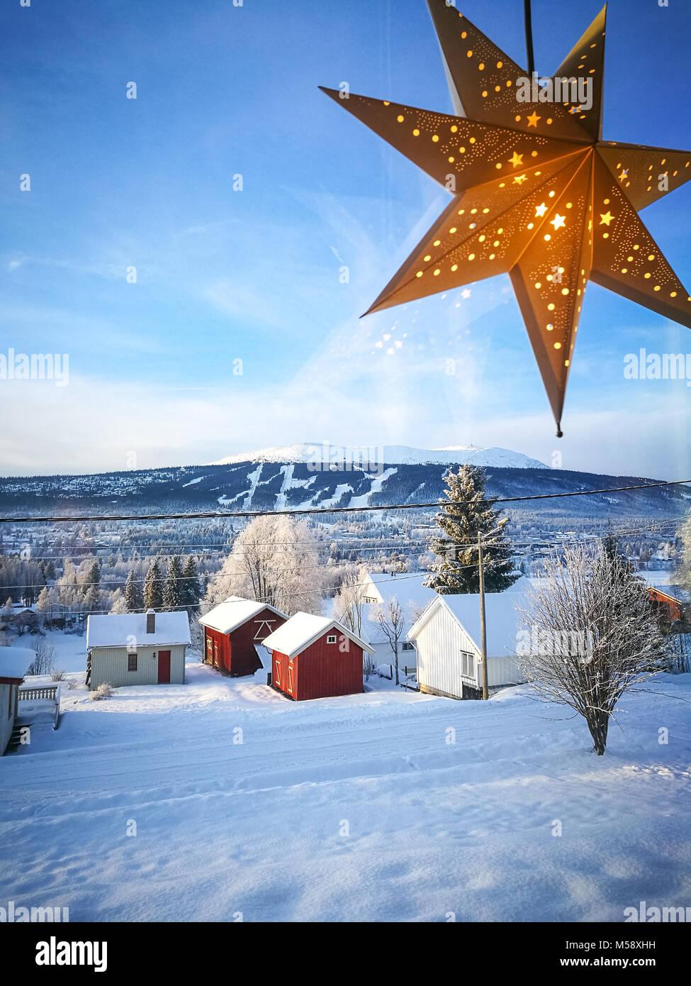 Norway Christmas Snow Stock Photos & Norway Christmas Snow Stock ...