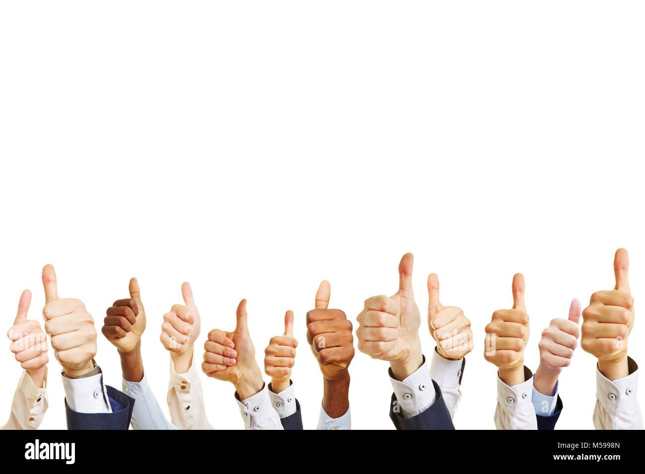 Technology Management Image: Businessman Holding Hands Up Winner Stock Photos