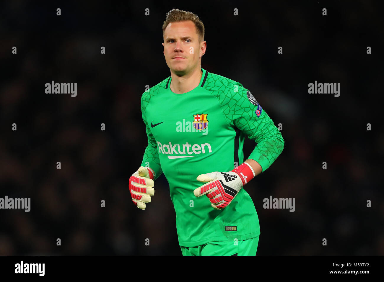 f84a02f6878 Marc Andre Ter Stegen Of Fc Barcelona Stock Photos   Marc Andre Ter ...
