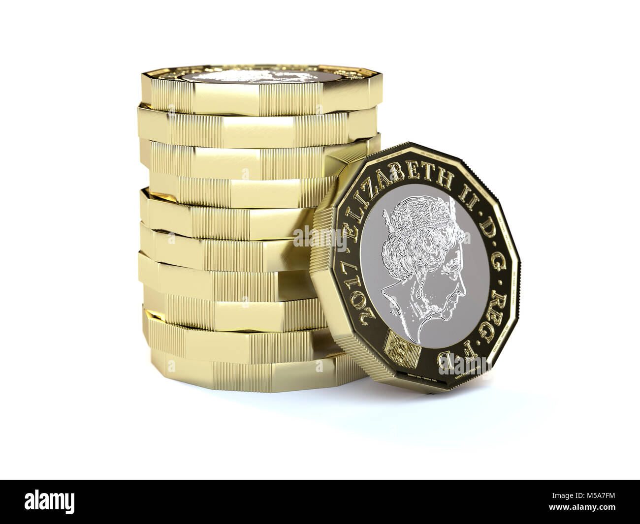 Pile English Money In Studio Stock Photos Amp Pile English