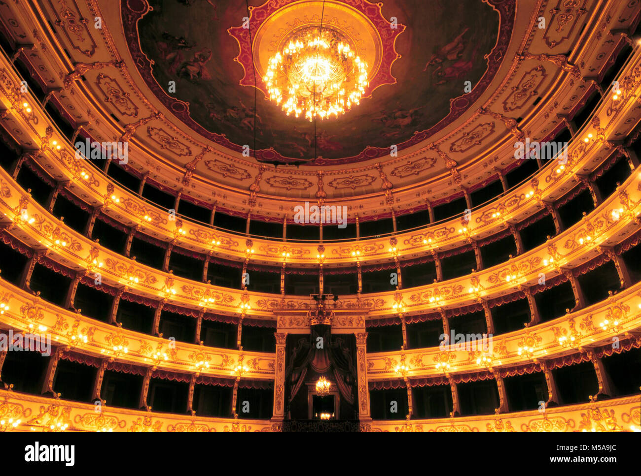 Parma (Italy), the Royal theater - Stock Image